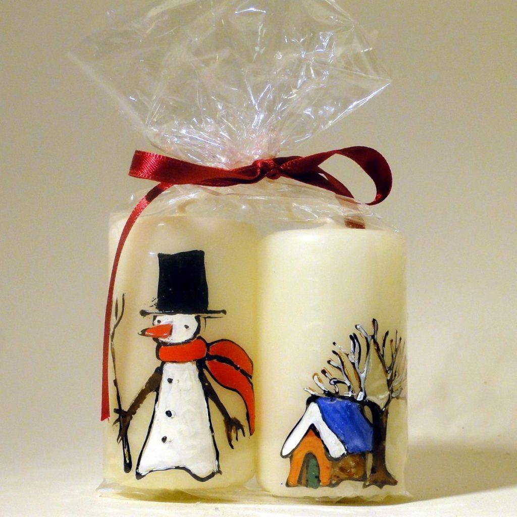 Kerzen - handbemalt