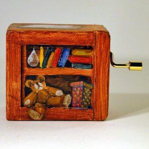 Spieldose - handbemalt